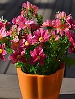 1 Une succursale Fibre Marguerites Fleur de Table Fleurs artificielles 13*13*18