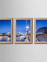 Fotografische Print Berühmte Landschaft Klassisch Realismus,Drei Paneele Panorama Druck-Kunst Wand Dekoration For Haus Dekoration