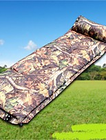 Moistureproof/Moisture Permeability Inflated Mat Sleeping Pad Camouflage Hiking Camping Traveling