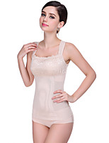 Women's Underbust Corset Nightwear,Push-Up Solid-Thin Mesh Women's