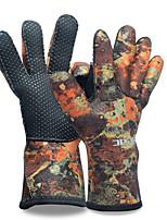 HISEA® унисекс Сохраняет тепло Удобный Анти-скольжение Неопрен Водолазный костюм Верхняя часть-Плавание Дайвинг Пляж Для погружения с