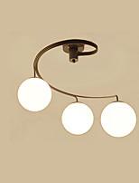 צמודי תקרה ,  מסורתי/ קלאסי רטרו גס צביעה מאפיין for LED מתכת חדר שינה חדר אוכל מטבח