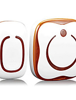 АБС-пластик Невизуальные дверной звонок Беспроводной Дверные звонки и системы оповещения