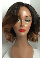 130% dekking Braziliaanse onbehandeld haar volledige kant pruiken losse golfhaar ombre T1b / 30 color virgin human hair lace pruiken voor