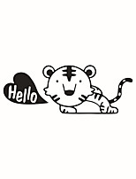 Wall Stickers Wall Decals Style Cute Tiger PVC Switch Stickers