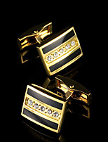 New Arrive Luxury Shirt Cuff link for Men's Gifts Unique Wedding Gold Cufflinks For Mens Business Gift Suit Sleeve Buttons