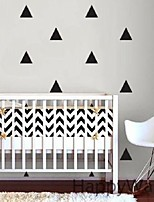 40 Mini Triangles Wall Sticker Kids Room Wall Decoration adesivo de paredes Decals Home Decor DIY Peel And Stick Art 5cm