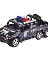 Полицейская машинка Машинки с инерционным механизмом 1:14 Металл ABS черный увядает