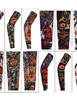 Návleky na ruce Kolo Prodyšné Rychleschnoucí Ochranný Pohodlné Proti sluci Unisex Slonová kost Nylon elastan
