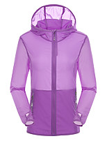 LEIBINDI® Women's Jacket Tops  Hiking Climbing Backcountry Breathable Quick Dry Windproof Ultraviolet Resistant Dust ProofSpring