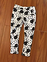 Girls' Casual/Daily Animal Print Pants-Cotton Spring Fall