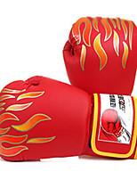 Боксерские перчатки для Бокс Рукавицы Защитный PU Черный Красный