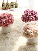 1 Branch Polyester Plastic Peonies Tabletop Flower Artificial Flowers 9*7