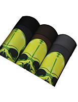 3Pcs/Lot Men's Fashion Sexy Print Skull Boxers Underwear Cotton Modal Panties Size L-XXXL