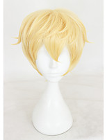 Short Blonde Game of Onmyoji Synthetic 12inch Anime Cosplay Wig CS-315H