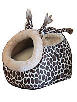 Pet Supplies Detachable Egg Shape Teddy Love Pleasure Leopard Animal Cat Dog Doghouse