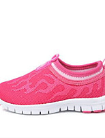 Girls' Sneakers Spring Fall Comfort Tulle Outdoor Casual Flat Heel Walking