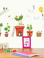 Caricatura Pegatinas de pared Calcomanías de Aviones para Pared Calcomanías Decorativas de Pared,Vinilo Material Decoración hogareña
