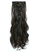 На клипсе синтетический Наращивание волос 150 Наращивание волос