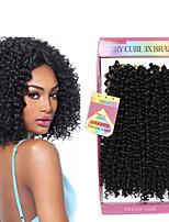 Кудрявый Фигурные плетенки Наращивание волос Kanekalon косы волос