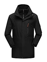 LEIBINDI® Men's Winter Jacket 3-in-1 Jackets Skiing Camping / Hiking Hunting Snowsports SnowboardingWaterproof Breathable Thermal / Warm Windproof