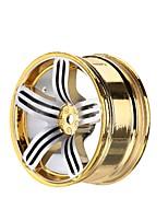 General RC Tires Neumático Coches RC / Buggy / Camiones Rojo Blanco Azul Amarillo Metal Aleación 4 PIEZAS