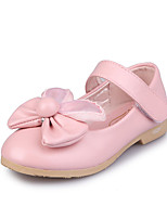 Girls' Athletic Shoes Spring Fall Winter Comfort PU Casual Low Heel Magic Tape