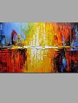 Handgemalte Abstrakt Stillleben Horizontal,Modern Europäischer Stil Ein Panel Leinwand Hang-Ölgemälde For Haus Dekoration