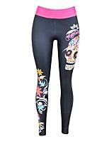 Damen Laufen Leggins Unten Atmungsaktiv Frühling Yoga Polyester Schlank Outdoor Kleidung Athlässigkeit Klassisch