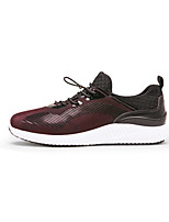 Men's Athletic Shoes Spring Summer Fall Winter Comfort Tulle Athletic Casual Flat Heel Lace-up Walking
