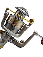 Fishing Reel Spinning Reels 5.2:1 12 Ball Bearings Right-handed General Fishing-FB5000