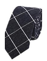 Для мужчин Для вечеринки Для офиса На каждый день Платок / аскотский галстук,Все сезоны Хлопок Полоски