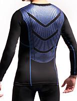 pour Basket-ball Course Homme Respirable Compression Protectif Des sports Extérieur Térylène