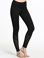 Femme Course / Running Collants Respirable Antiradiation Compression Anti-transpiration Printemps Eté Automne Yoga Course/Running Térylène