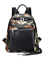 Women PU Formal Casual Outdoor Office & Career Shopping Backpack All Seasons