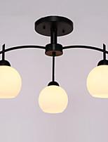 צמודי תקרה ,  מודרני / חדיש גס צביעה מאפיין for סגנון קטן מתכת חדר שינה חדר אוכל כניסה
