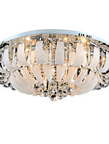 Modern Crystal Dome Ceiling Bedroom Living Room Lamps C