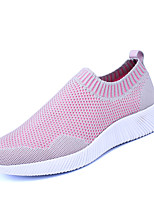 Women's Sneakers Spring Summer Comfort Couple Shoes Tulle Outdoor Athletic Casual Flat Heel Walking