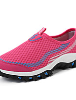 Women's Loafers & Slip-Ons Spring Summer Comfort Couple Shoes Tulle Outdoor Athletic Casual Flat Heel Running