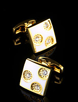 New Luxury Gold Shirt Cufflinks for Men Brand Cuff Buttons Wedding Gifts French Cuff links Suit Sleeve Cuffs Jewelry