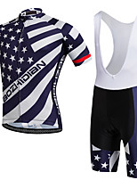 AOZHIDIAN Summer Cycling Jersey Short Sleeves BIB Shorts Ropa Ciclismo Cycling Clothing Suits #AZD146