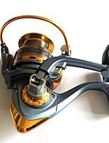 Molinetes de Pesca Molinetes Rotativos 5.2:1 11 Rolamentos Destro Pesca Geral-WT4000