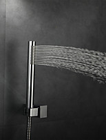 Contemporary Rain Shower Chrome Feature for  Rainfall  Shower Head  Bathroom