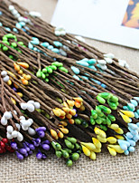 10 Branch Simulation Berries Rattan Hand-Made DIY Garland Accessories Artificial Flower