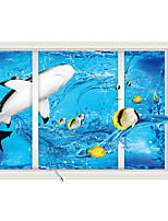 Tiere Wand-Sticker Flugzeug-Wand Sticker 3D Wand Sticker Dekorative Wand Sticker,Papier Stoff Haus Dekoration Wandtattoo