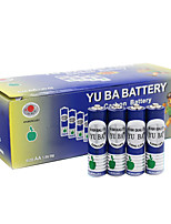 Yuba aa cardon bateria de zinco 1.5v 32 pack