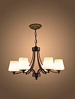 Montage de Flujo ,  Moderno / Contemporáneo Cosecha Pintura Característica for LED MetalSala de estar Dormitorio Comedor Habitación de