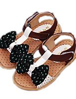 Women's Sandals Spring Summer Fall Comfort PU Casual Flat Heel Bowknot