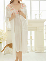 Women's Garters & Suspenders Ultra Sexy Nightwear Solid-Medium Polyester Ice Silk Women's