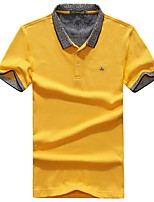 Men's T-shirt Breathable Summer Yellow White Red Black
